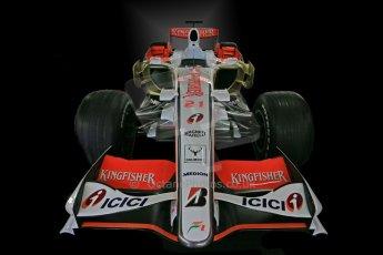 World © Octane Photographic Ltd. Donington Grand Prix Collection 25th January 2015. Force India F1 Team - VJM-01 - Giancarlo Fisichella (2008). Digital Ref: 1179CB1D0949