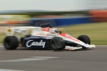 World © Octane Photographic Ltd. Saturday 2nd May 2015. Donington Historic Festival - Historic F1 Car demonstration laps. 1994 Toleman TG 184 (Ex-Ayrton Senna). Digital Ref : 1240CB1L5759