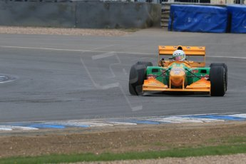 World © Octane Photographic Ltd. Saturday 2nd May 2015. Donington Historic Festival - Historic F1 Car demonstration laps. 1993 Benetton B193B/4 (Ex-Michael Shumacher). Digital Ref : 1240LB7D1120