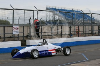 World © Octane Photographic Ltd. 13th October 2015. Donington Park. General Testing. Team USA Scholarship & Cliff Dempsey Racing - Michai Stephens. Digital Ref: 1455LB1D7104