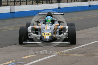 World © Octane Photographic Ltd. 15th October 2015. Donington Park. General Testing. JTR MSA Formula Team - Toby Sowery. Digital Ref: 1455LB1D7123