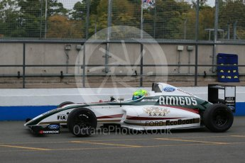 World © Octane Photographic Ltd. 15th October 2015. Donington Park. General Testing. JHR Racing - Dan Zelos. Digital Ref: 1455LB1D7220
