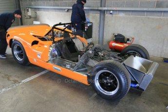 World © Octane Photographic Ltd. Wednesday 4th March 2015, General un-silenced test day – Donington Park, McLaren M6 - Carlos Incenti - Masters Historic Sportscar Championship. Digital Ref : 1196CB1D4077