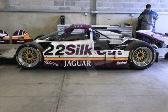 World © Octane Photographic Ltd. Wednesday 4th March 2015, General un-silenced test day – Donington Park - Silk Cut Jaguar XJR9 - Historic Group C (Gp.C) Racing. Digital Ref : 1196CB1D4087