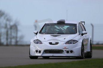 World © Octane Photographic Ltd. Wednesday 4th March 2015, General un-silenced test day – Donington Park, Zest Racecar Engineering - Seat Ibiza. Digital Ref : 1196CB1D4121