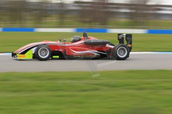 World © Octane Photographic Ltd. Wednesday 4th March 2015, General un-silenced test day – Donington Park - Chris Dittmann Racing - Tony Bishop - Dallara F307 Mercedes HWA - MSVR F3Cup. Digital Ref : 1196CB1L5016