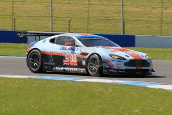 World © Octane Photographic Ltd. Donington Park general unsilenced testing June 4th 2015. FIA World Endurance Championship (WEC), Aston Martin Racing – Aston Martin Vantage GTE - LMGTE Am – Roalde Goethe and Stuart Hall Digital Ref :