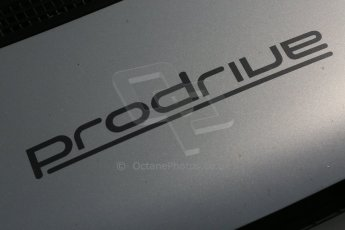 World © Octane Photographic Ltd. Donington Park general unsilenced testing June 4th 2015. Prodrive logo. Digital Ref :