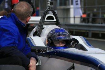World © Octane Photographic Ltd. DUO BRDC Formula 4 Qualifying, Oulton Park, UK, Saturday 4th April 2015. MSV F4-013. HHC Motorsport. Harri Newey. Digital Ref : 1213LB1D2581