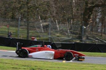 World © Octane Photographic Ltd. DUO BRDC Formula 4 Qualifying, Oulton Park, UK, Saturday 4th April 2015. MSV F4-013. Hillspeed. Al Faisal Al Zubair. Digital Ref : 1213LB1D2854