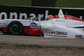 World © Octane Photographic Ltd. DUO BRDC Formula 4 Race 1, Oulton Park, UK, Saturday 4th April 2015. MSV F4-013. Douglas Motorsport. Fernando Urrutia. Digital Ref : 1214LB1D3343