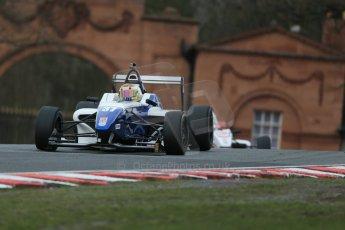 World © Octane Photographic Ltd. DUO BRDC Formula 4 Race 1, Oulton Park, UK, Saturday 4th April 2015. MSV F4-013. HHC Motorsport. Sisa Ngebulana. Digital Ref : 1214LB1D3391