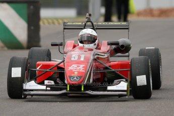 World © Octane Photographic Ltd. Saturday 25th April 2015, MSVR F3 Cup Qualifying. Donington Park. Chris Dittmann Racing (CDR) – Kieran Vernon – Dallara F307 Mercedes HWA. Digital Ref: 1234CB7L6961