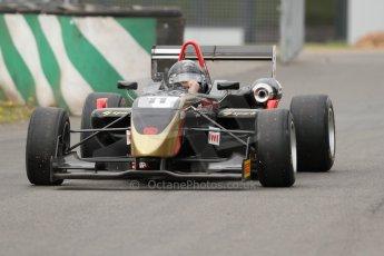 World © Octane Photographic Ltd. Saturday 25th April 2015, MSVR F3 Cup Qualifying. Donington Park. CF Racing - Daniel Tapinos – Dallara F311 NBE. Digital Ref: 1234CB7L6981