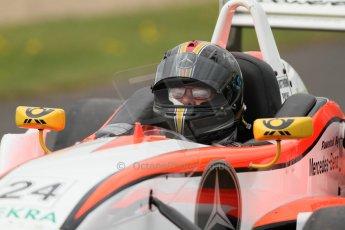 World © Octane Photographic Ltd. Saturday 25th April 2015, MSVR F3 Cup Qualifying. Donington Park. Matthew Payne– Dallara F307 Mercedes HWA. Digital Ref: 1234CB7L6993