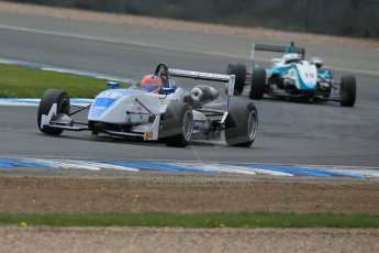 World © Octane Photographic Ltd. Saturday 25th April 2015, MSVR F3 Cup Qualifying. Donington Park. Grays Motorsport – Aaron Steele – Dallara F307 Mugen Honda. Digital Ref: 1234LB1D3886