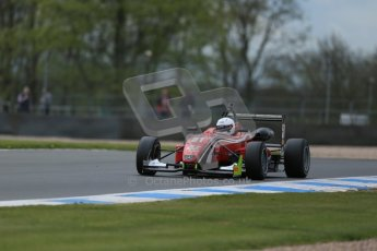 World © Octane Photographic Ltd. Saturday 25th April 2015, MSVR F3 Cup Qualifying. Donington Park. Chris Dittmann Racing (CDR) – Kieran Vernon – Dallara F307 Mercedes HWA. Digital Ref: 1234LB1D4074
