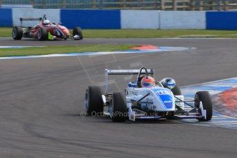 World © Octane Photographic Ltd. Saturday 25th April 2015, MSVR F3 Cup Race 1. Donington Park. Chris Dittmann Racing (CDR) – Kieran Vernon – Dallara F307 Mercedes HWA. Digital Ref: 1235CB7B1811