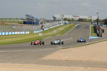 World © Octane Photographic Ltd. Saturday 25th April 2015, MSVR F3 Cup Race 1. Donington Park. Chris Dittmann Racing (CDR) – Kieran Vernon – Dallara F307 Mercedes HWA. Digital Ref: 1235LW1L4618