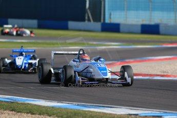 World © Octane Photographic Ltd. Sunday 26th April 2015, MSVR F3 Cup Race 3. Donington Park. Grays Motorsport – Aaron Steele – Dallara F307 Mugen Honda. Digital Ref: 1237LB1D4703
