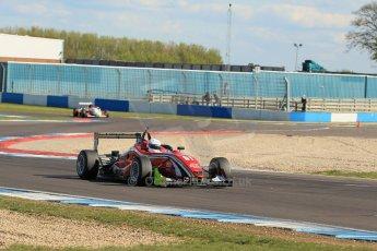 World © Octane Photographic Ltd. Sunday 26th April 2015, MSVR F3 Cup Race 3. Donington Park. Chris Dittmann Racing (CDR) – Kieran Vernon – Dallara F307 Mercedes HWA. Digital Ref: 1237LW1L4830