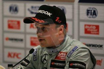 World © Octane Photographic Ltd. FIA European F3 Championship, Silverstone Race 1 Conference, UK, Saturday 11th April 2015. Prema Powerteam – Felix Rosenqvist, Dallara F312 – Mercedes-Benz. Digital Ref : 1222LB1D7908
