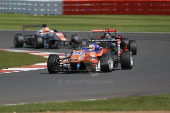 World © Octane Photographic Ltd. FIA European F3 Championship, Silverstone Race 2, UK, Saturday 11th April 2015. kfzteile24 Mucke Motorsport – Maximilian Gunther, Dallara F312 – Mercedes-Benz, Signature – Dorian Boccolacci, Dallara F312 – Volkswagen and Motopark – Marcus Pommer, Dallara F312 – Volkswagen. Digital Ref : 1223LB1D8147