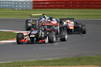 World © Octane Photographic Ltd. FIA European F3 Championship, Silverstone Race 2, UK, Saturday 11th April 2015.  Signature – Dorian Boccolacci, Dallara F312 – Volkswagen and Motopark – Marcus Pommer, Dallara F312 – Volkswagen. Digital Ref : 1223LB1D8151