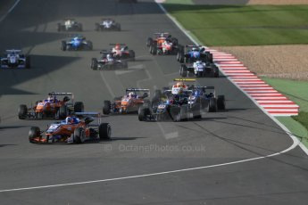 World © Octane Photographic Ltd. FIA European F3 Championship, Silverstone Race 3, UK, Sunday 12th April 2015. kfzteile24 Mucke Motorsport – Santino Ferrucci, Dallara F312 – Mercedes-Benz. Digital Ref : 1224LB1D8322