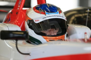World © Octane Photographic Ltd. FIA European F3 Championship, Silverstone test day, UK, Tuesday 7th April 2015. Fortec Motorsports – Matthew Rao, Dallara F312 – Mercedes-Benz. Digital Ref :
