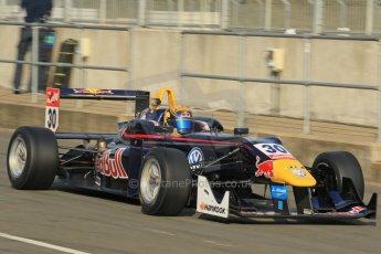 World © Octane Photographic Ltd. FIA European F3 Championship, Silverstone test day, UK, Tuesday 7th April 2015. Carlin – Calum Ilott, Dallara F312 – Volkswagen. Digital Ref : 1216LW1L8381