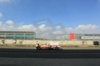 World © Octane Photographic Ltd. FIA European F3 Championship, Silverstone test day, UK, Tuesday 7th April 2015. kfzteile24 Mucke Motorsport – Michele Beretta, Dallara F312 – Mercedes-Benz. Digital Ref : 1216LW1L8749