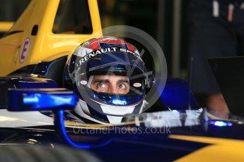 World © Octane Photographic Ltd. FIA Formula E testing – Donington Park 10th August 2015, Renault Z.E.15. Renault e.Dams – Sebastien Buemi. Digital Ref : 1366LB1D4281