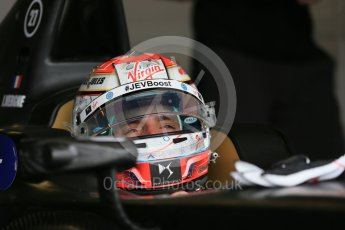 World © Octane Photographic Ltd. FIA Formula E testing – Donington Park 10th August 2015, Virgin DSV-01. DS Virgin Racing – Jean-Eric Vergne. Digital Ref : 1366LB1D4336
