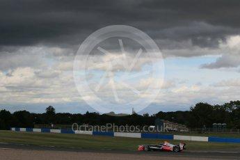 World © Octane Photographic Ltd. FIA Formula E testing – Donington Park 10th August 2015, Mahindra M2ELECTRO. Mahindra – Nick Heidfeld. Digital Ref : 1366LB1D4621