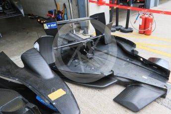 World © Octane Photographic Ltd. FIA Formula E testing – Donington Park 10th August 2015, SRT01-e. Team Aguri – Salvador Duran Sanchez. Digital Ref : 1366LB7D4271