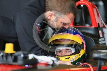 World © Octane Photographic Ltd. FIA Formula E testing – Donington Park 11th August 2015, Venturi VM200-FE-01. Venturi – Jacques Villeneuve. Digital Ref : 1367LB1D4647