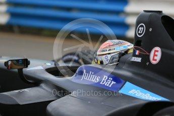 World © Octane Photographic Ltd. FIA Formula E testing – Donington Park 11th August 2015, Virgin DSV-01. DS Virgin Racing – Jean-Eric Vergne. Digital Ref : 1367LB1D4680