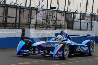 World © Octane Photographic Ltd. FIA Formula E testing – Donington Park 11th August 2015, Andretti ATEC-01. Amlin-Andretti – Simona di Silvestro. Digital Ref : 1367LB1D4751