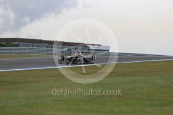 World © Octane Photographic Ltd. FIA Formula E testing – Donington Park 11th August 2015, SRT01-e. Team Aguri – Tom Dillmann. Digital Ref : 1367LB1D4766