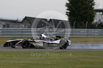 World © Octane Photographic Ltd. FIA Formula E testing – Donington Park 11th August 2015, Venturi VM200-FE-01. Dragon Racing – Loic Duval. Digital Ref : 1367LB1D4773