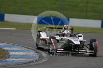 World © Octane Photographic Ltd. FIA Formula E testing – Donington Park 11th August 2015, Venturi VM200-FE-01. Dragon Racing – Jerome D'Ambrosio. Digital Ref : 1367LB1D4825
