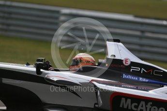 World © Octane Photographic Ltd. FIA Formula E testing – Donington Park 11th August 2015, Venturi VM200-FE-01. Dragon Racing – Jerome D'Ambrosio. Digital Ref : 1367LB1D4831