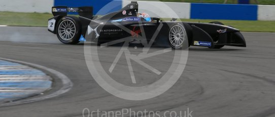 World © Octane Photographic Ltd. FIA Formula E testing – Donington Park 11th August 2015, Virgin DSV-01. DS Virgin Racing – Sam Bird. Digital Ref : 1367LB1D4986