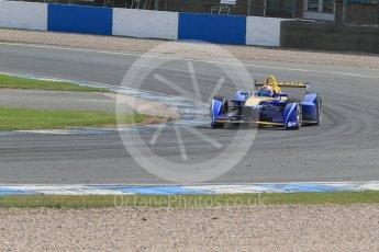 World © Octane Photographic Ltd. FIA Formula E testing – Donington Park 11th August 2015, Renault Z.E.15. Renault e.Dams – Sebastien Buemi. Digital Ref : 1367LB1D5140