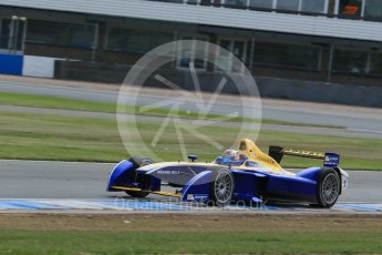 World © Octane Photographic Ltd. FIA Formula E testing – Donington Park 11th August 2015, Renault Z.E.15. Renault e.Dams – Sebastien Buemi. Digital Ref : 1367LB1D5329