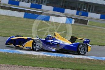 World © Octane Photographic Ltd. FIA Formula E testing – Donington Park 11th August 2015, Renault Z.E.15. Renault e.Dams – Nicolas Prost. Digital Ref : 1367LB1D5352