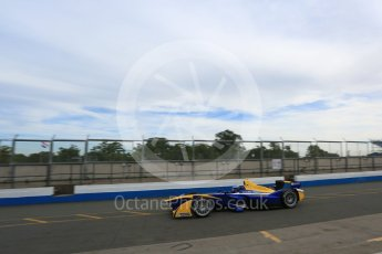 World © Octane Photographic Ltd. FIA Formula E testing – Donington Park 11th August 2015, Renault Z.E.15. Renault e.Dams – Nicolas Prost. Digital Ref : 1367LB5D2414