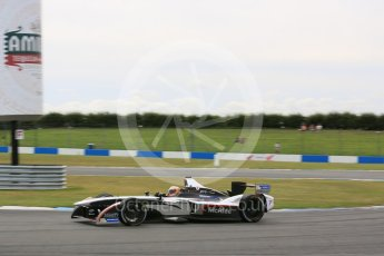 World © Octane Photographic Ltd. FIA Formula E testing – Donington Park 11th August 2015, Venturi VM200-FE-01. Dragon Racing – Jerome D'Ambrosio. Digital Ref : 1367LB5D2475