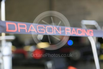 World © Octane Photographic Ltd. FIA Formula E testing – Donington Park 11th August 2015, Venturi VM200-FE-01. Dragon Racing logo. Digital Ref : 1367LB5D2533